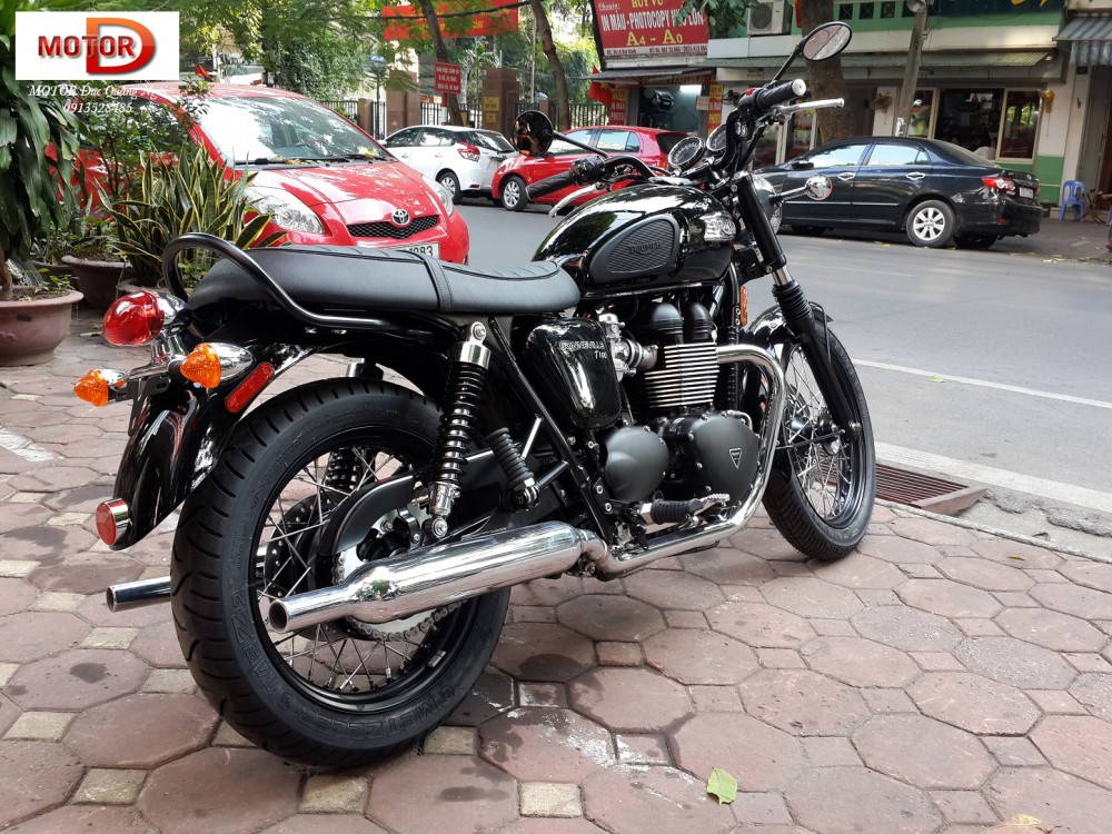 May em Triumph Bonneville vua ve doi - 19