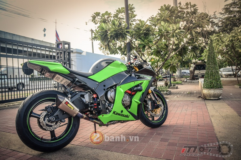 Ngam bo anh Kawasaki ZX10 do sieu chat tai dat Thai - 25