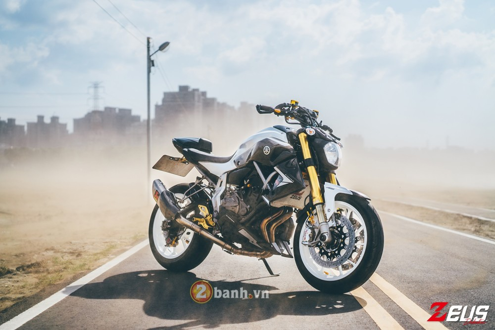 Phien ban do day hang hieu cua Yamaha MT07 - 18