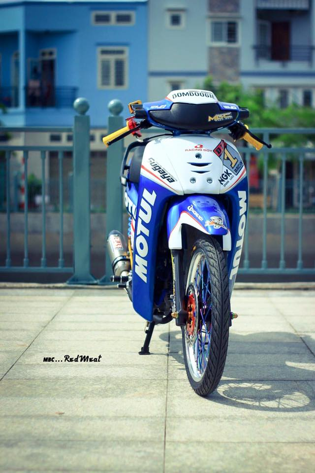 Pic Bo anh dep nhat ve con Wave kieng phien ban Motul gay an tuong - 2
