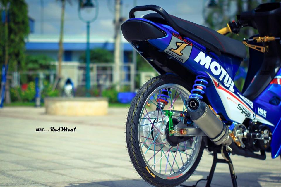 Pic Bo anh dep nhat ve con Wave kieng phien ban Motul gay an tuong - 4