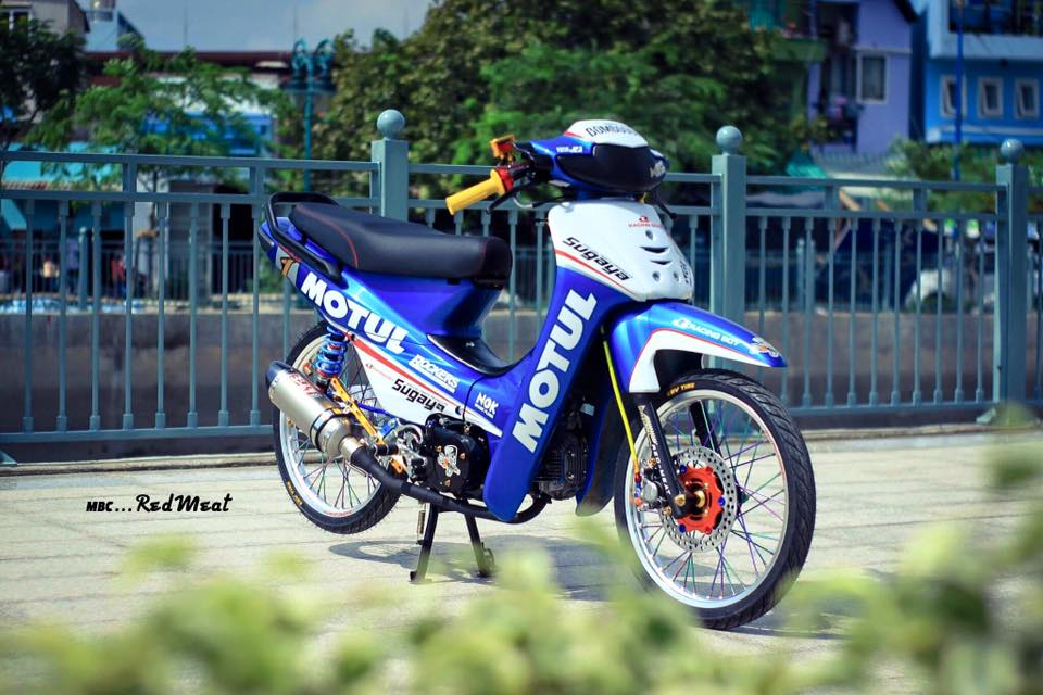 Pic Bo anh dep nhat ve con Wave kieng phien ban Motul gay an tuong - 16