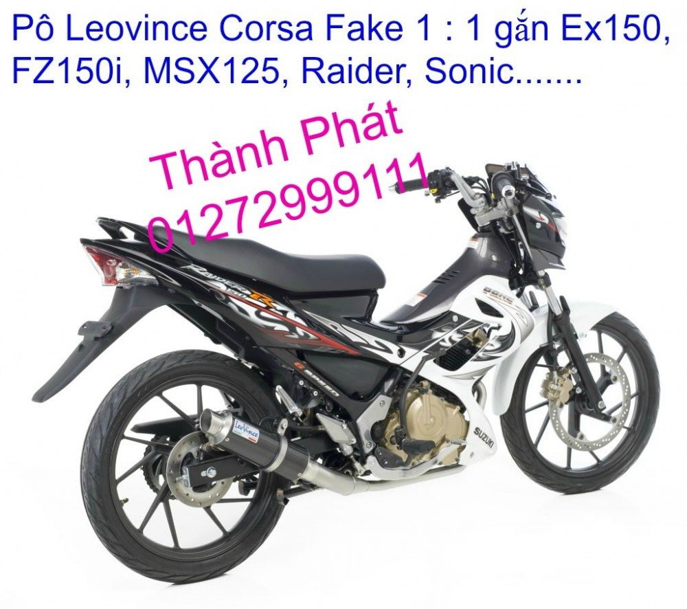 Po do Po kieu Co po 7 khuc AHM Akrapovic Yoshimura SC Project 2 Brother MIVV YYPANG Leov - 43