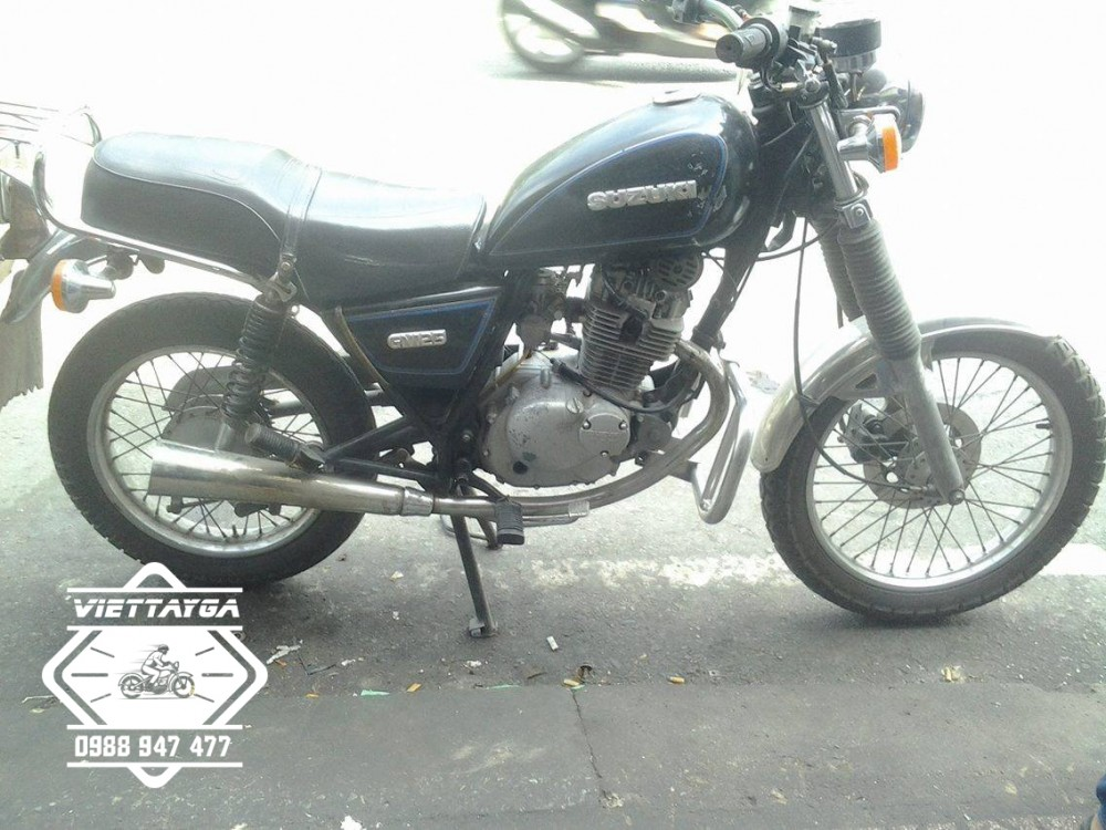 Su GN125 do Cafe racer Tu nam ra bac