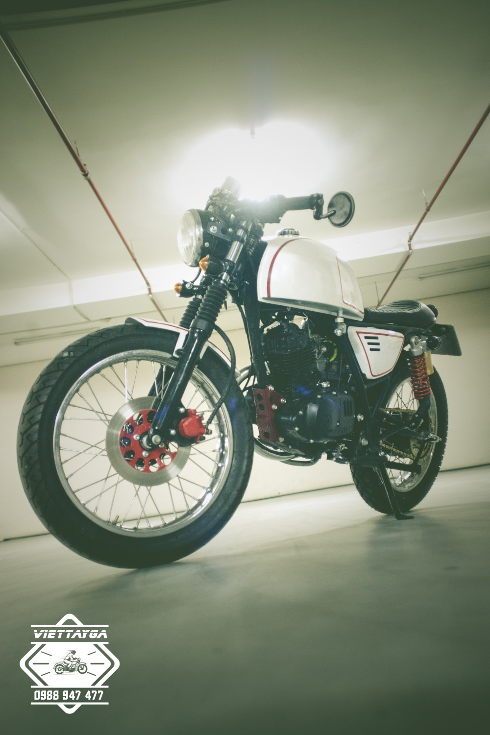 Su GN125 do Cafe racer Tu nam ra bac - 13