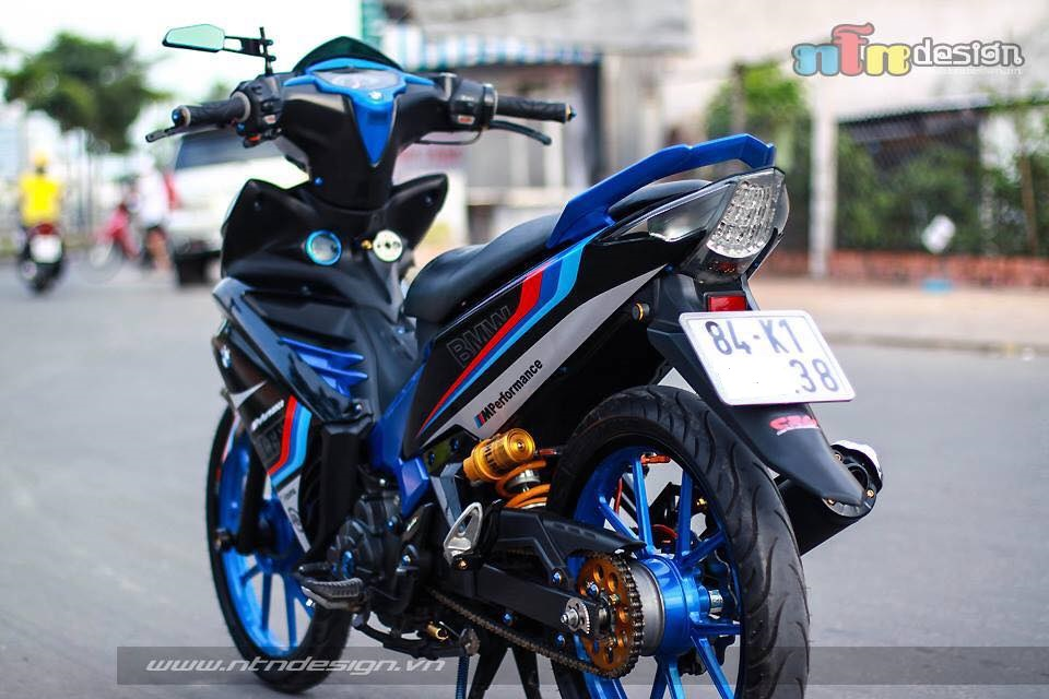 Yamaha exciter phien ban BMW MPerformance s135rr - 2