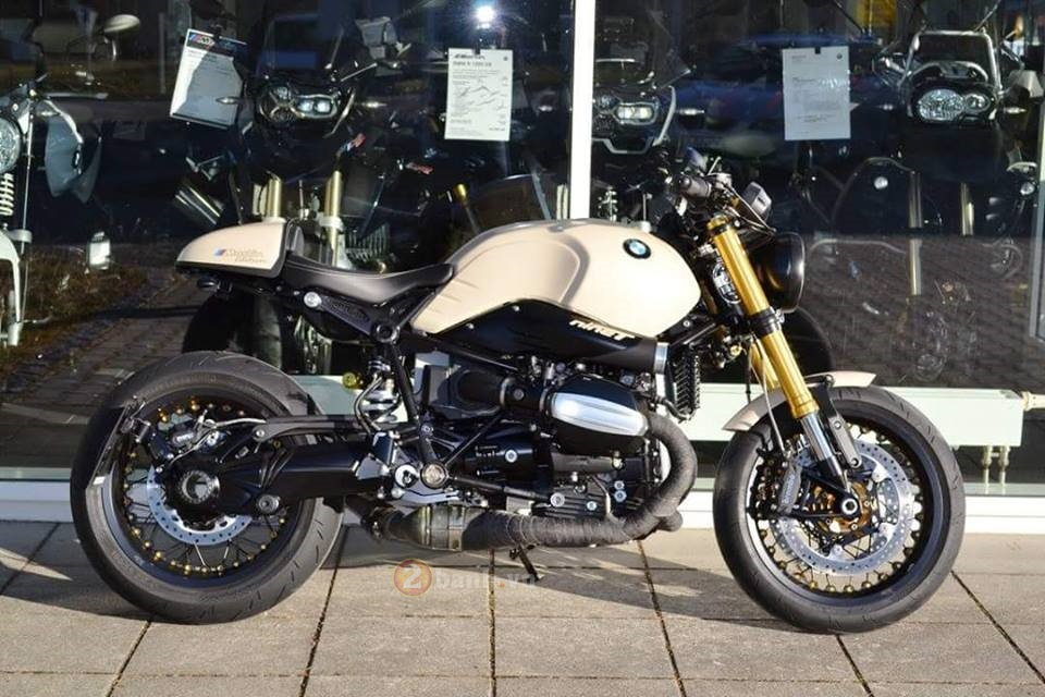 BMW R Nine T do manh me dam chat Cafe Racer - 2