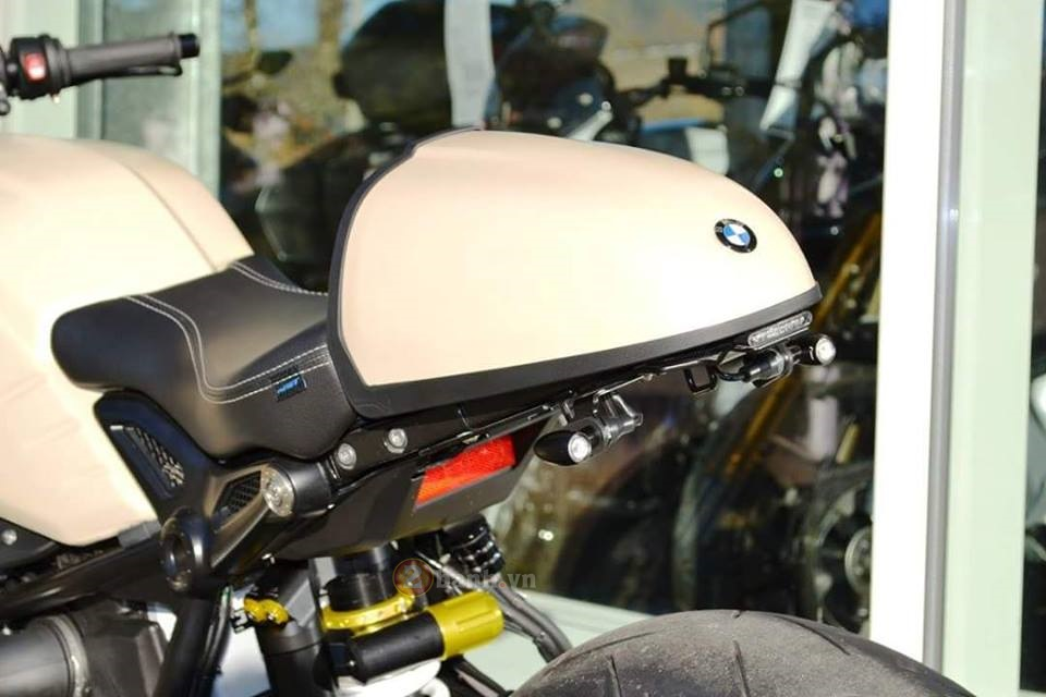BMW R Nine T do manh me dam chat Cafe Racer - 11