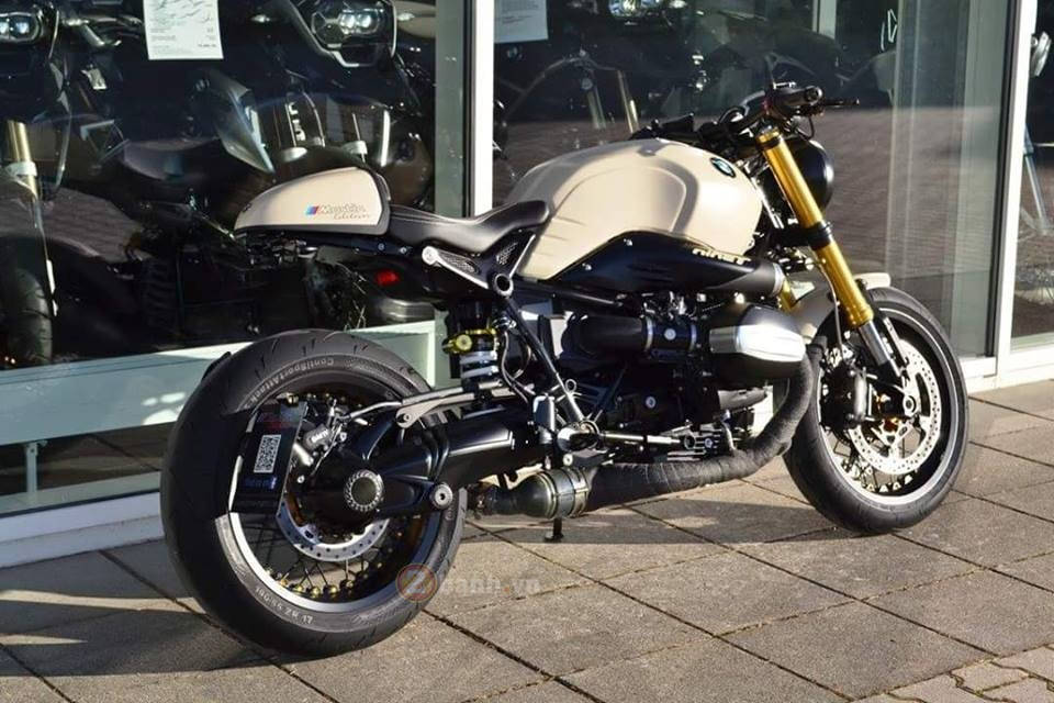 BMW R Nine T do manh me dam chat Cafe Racer - 13
