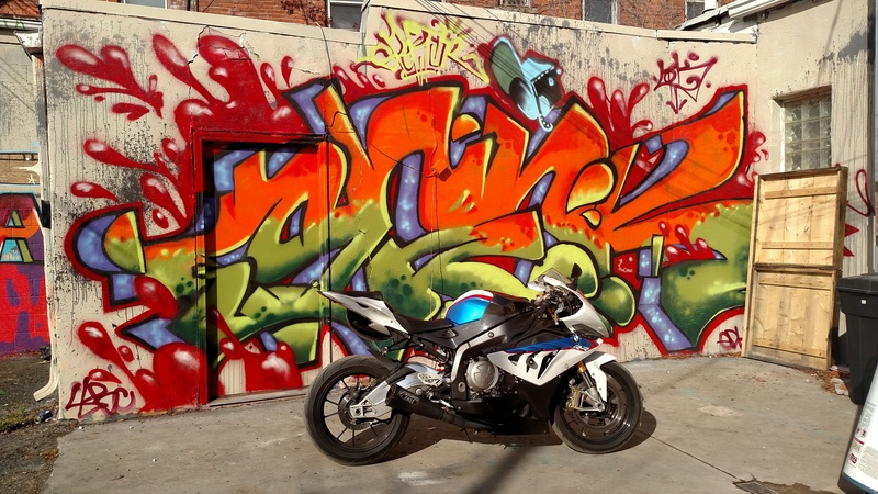 Bo anh dep cua BMW S1000RR theo phong cach Grafity - 2