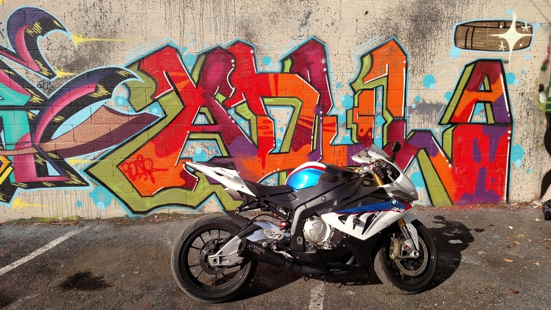Bo anh dep cua BMW S1000RR theo phong cach Grafity - 6