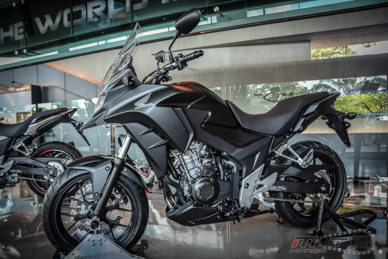 Can canh Honda CB500X 2016 mau adventure tam trung an tuong tai Motor Expo 2015 - 4