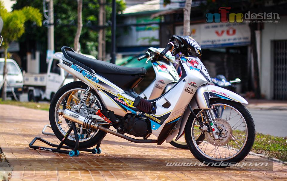 Cap doi Wave nho don kieng style racing - 7