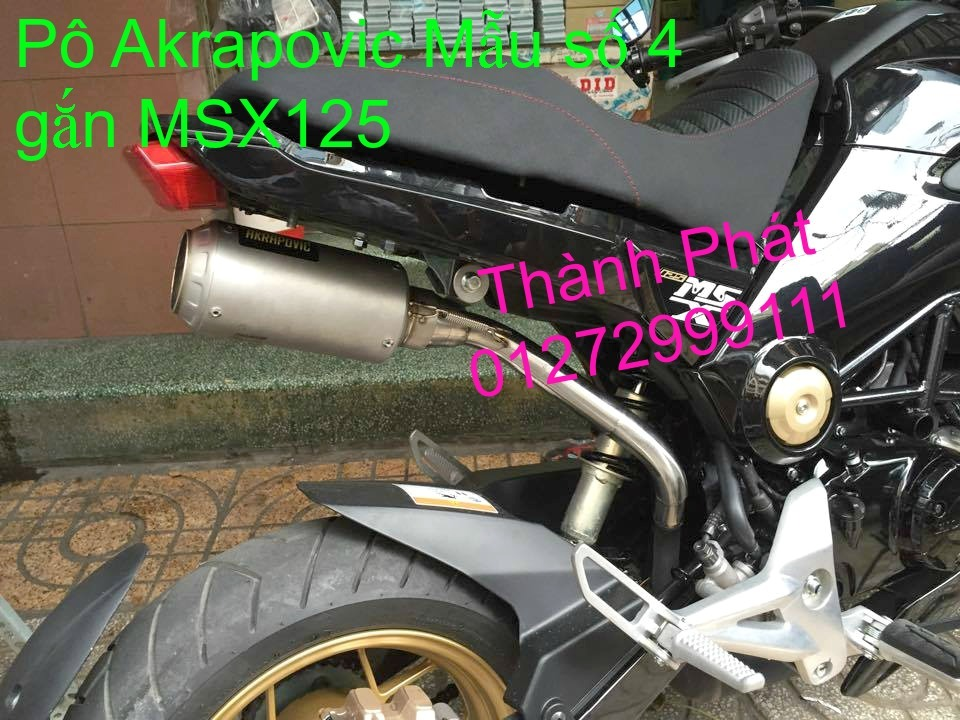 Po do Po kieu Co po 7 khuc AHM Akrapovic Yoshimura SC Project 2 Brother MIVV YYPANG Leov - 12