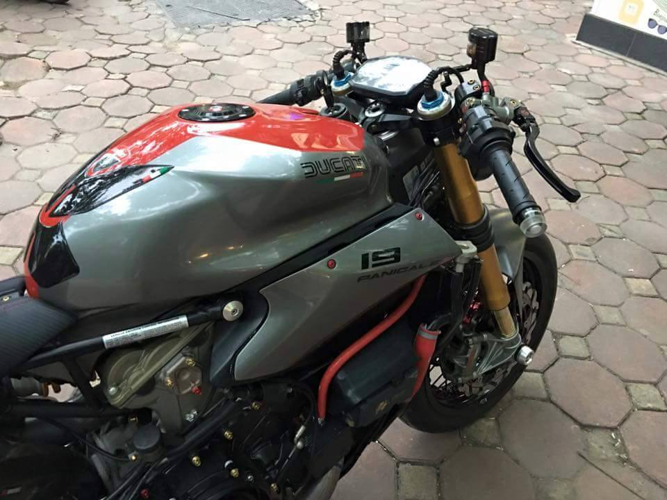 Ducati 1199 Panigale S do kich doc voi phong cach Streetfighter - 3
