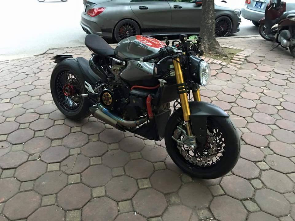 Ducati 1199 Panigale S do kich doc voi phong cach Streetfighter - 7