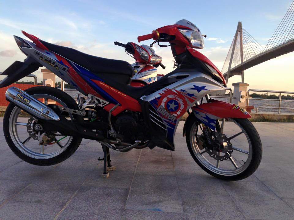 Exciter 135cc version do an tuong nhat thang