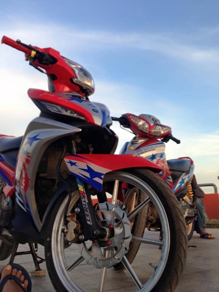 Exciter 135cc version do an tuong nhat thang - 5