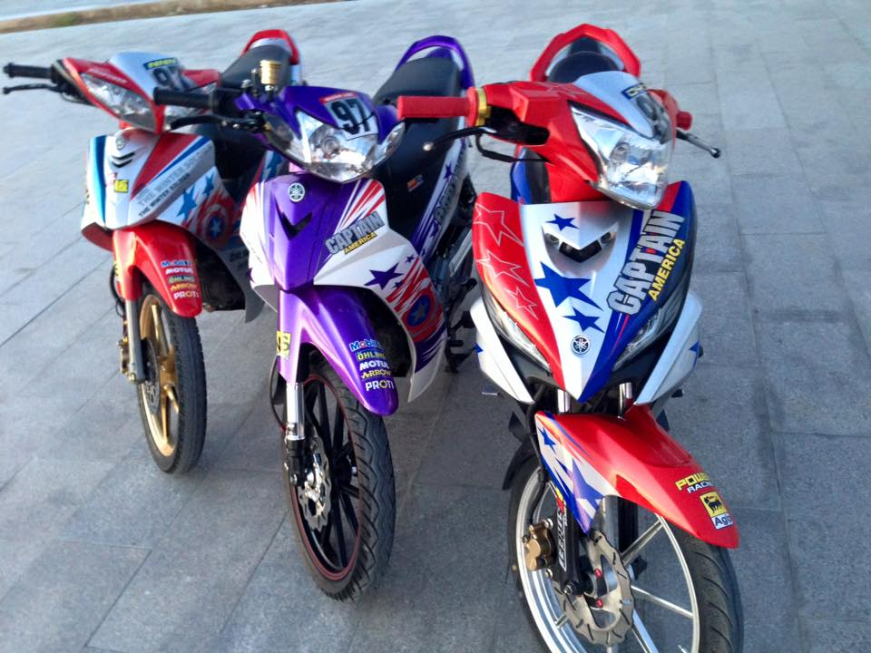Exciter 135cc version do an tuong nhat thang - 8