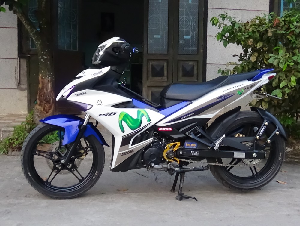 Exciter 150 do don gian nhung manh me