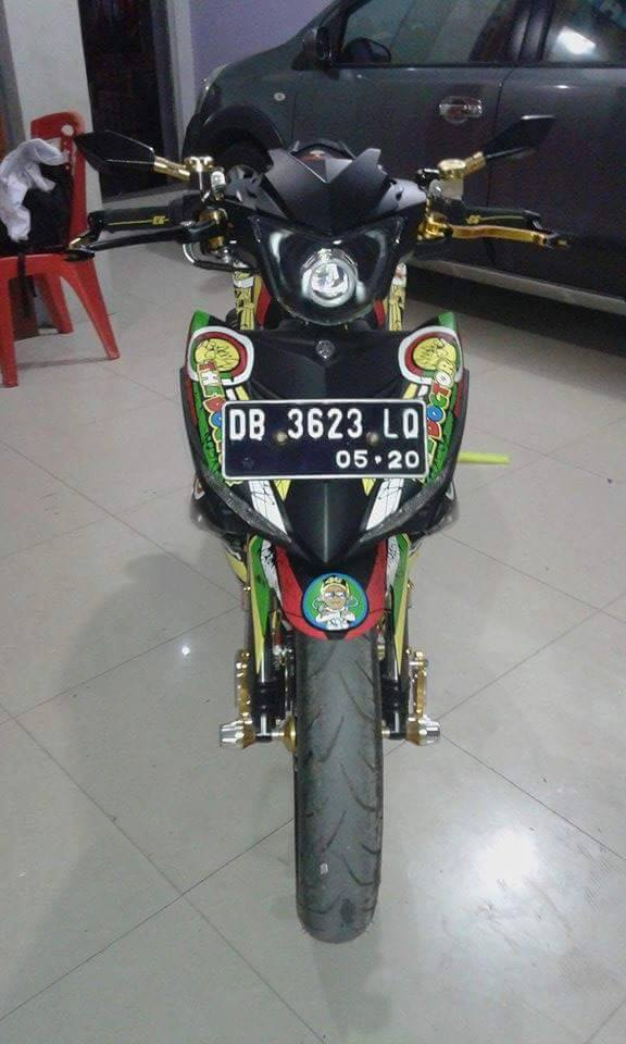 Exciter 150 do phong cach Rossi an tuong - 2