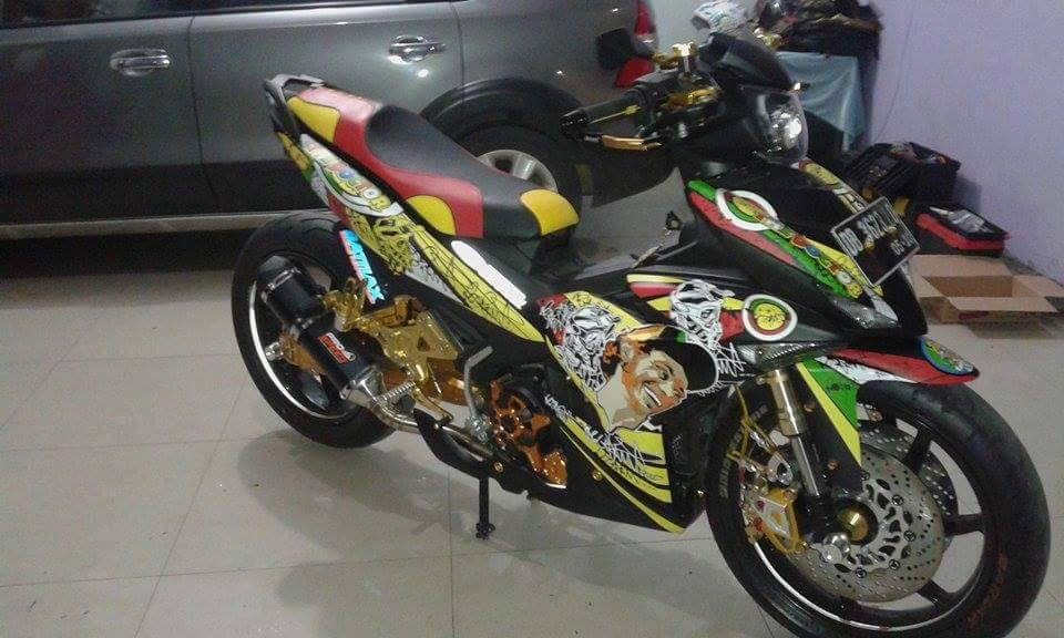 Exciter 150 do phong cach Rossi an tuong - 3