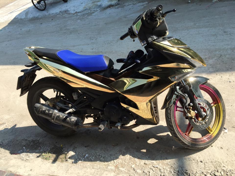 Exciter 150cc son crome cuc dinh