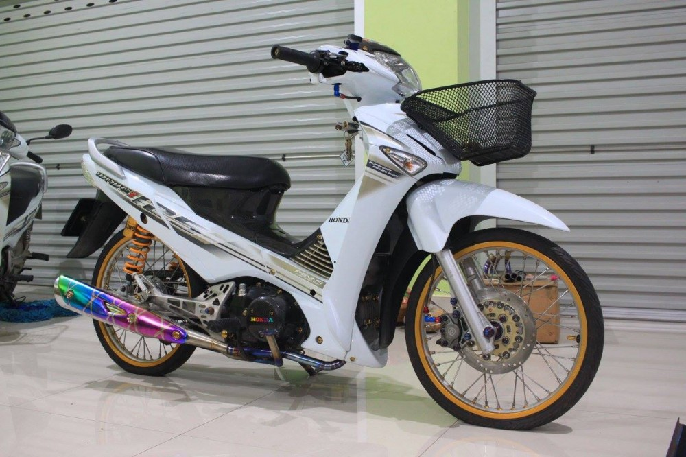 Honda Wave 125i do day chat choi cua biker Thai - 10