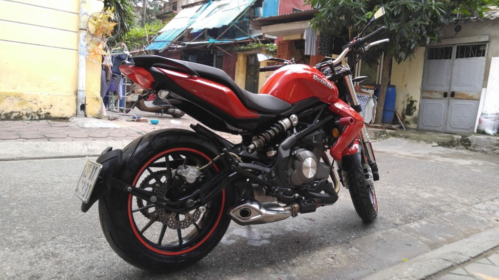 Ha NoiBan PKL BENELLI 302 mau do doi 2015 moi keng - 9