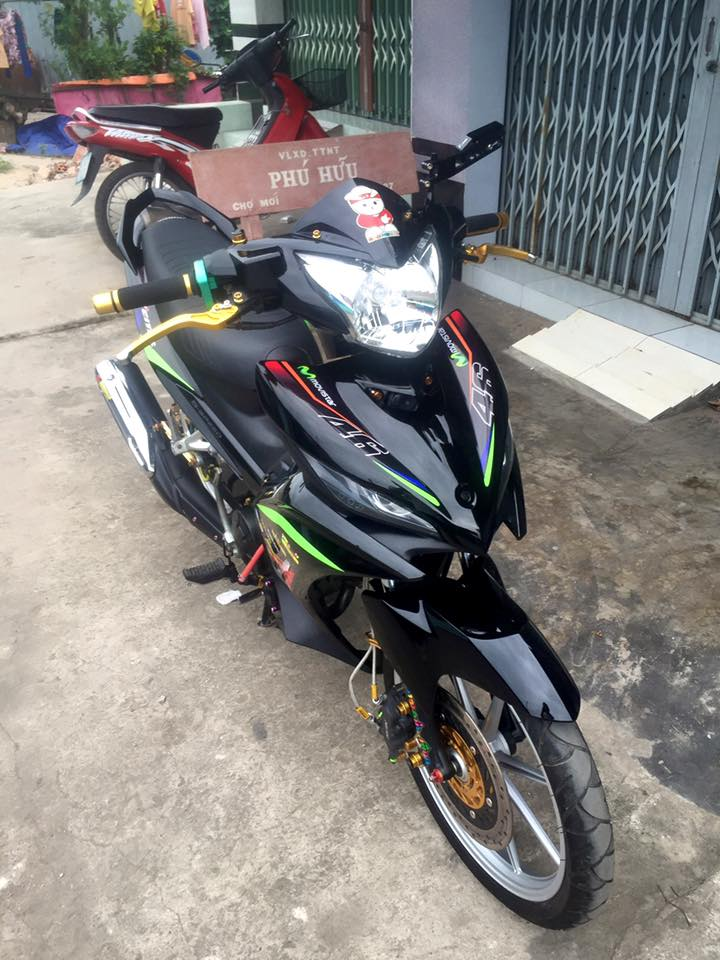 Phong cach manh me tu con Exciter 135 2 cang - 2
