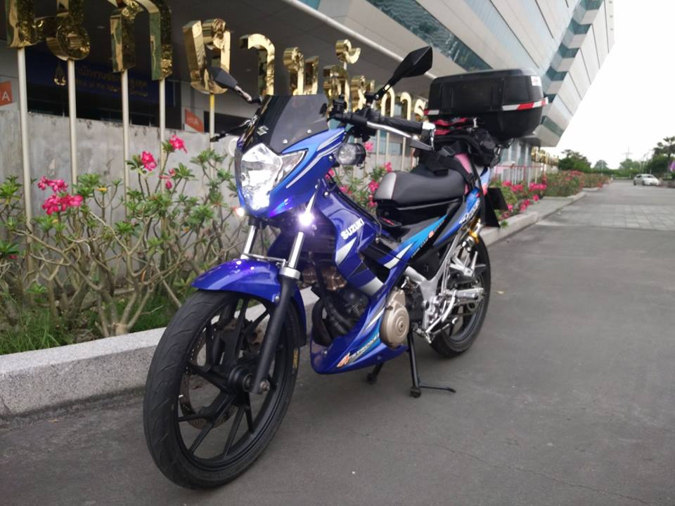 Suzuki raider do full do nghe touring - 3