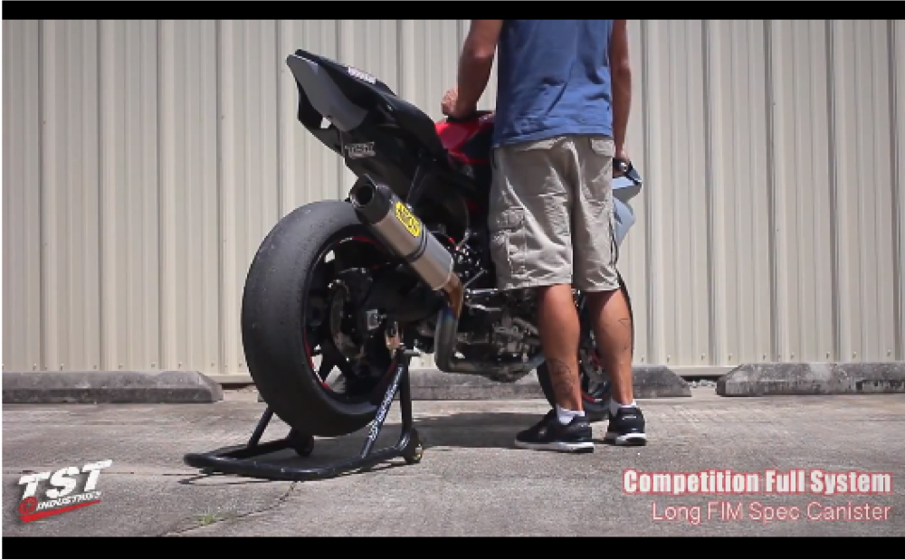 Test po Arrow Exhaust gan tren Yamaha YZF R1 2016