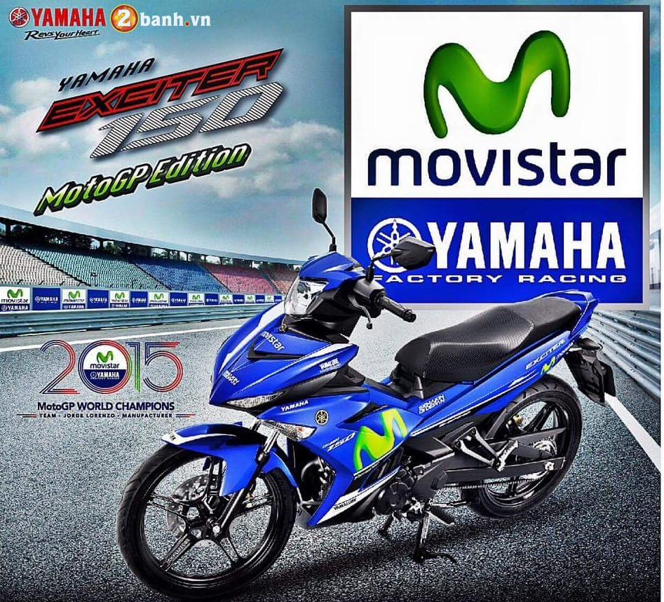 Yamaha Thai sap tung ra ban Exciter 150 Movistar