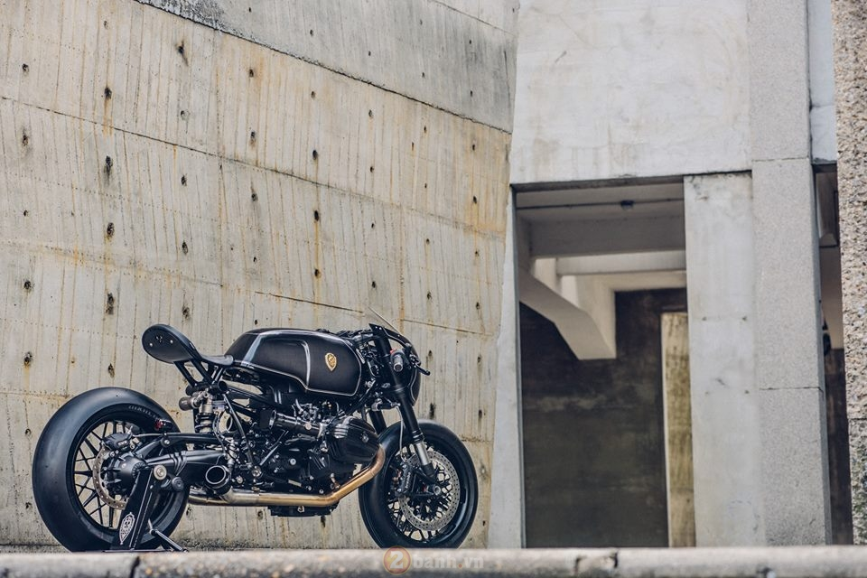 BMW R NineT do phien ban black candy cuc ngau - 2