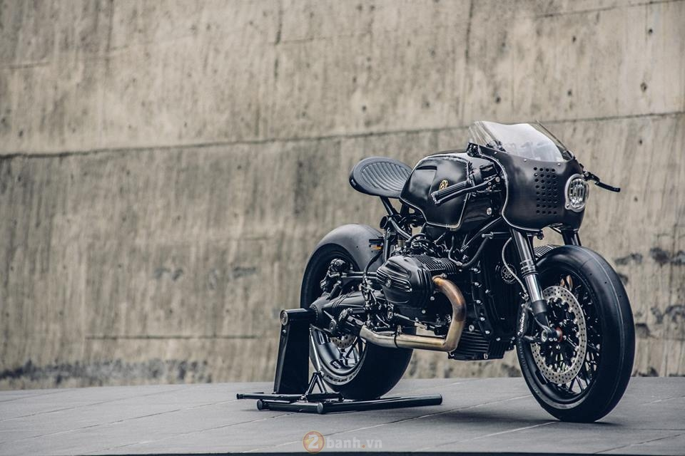 BMW R NineT do phien ban black candy cuc ngau - 9