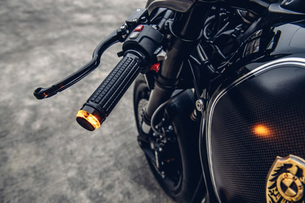 BMW R NineT do phien ban black candy cuc ngau - 7