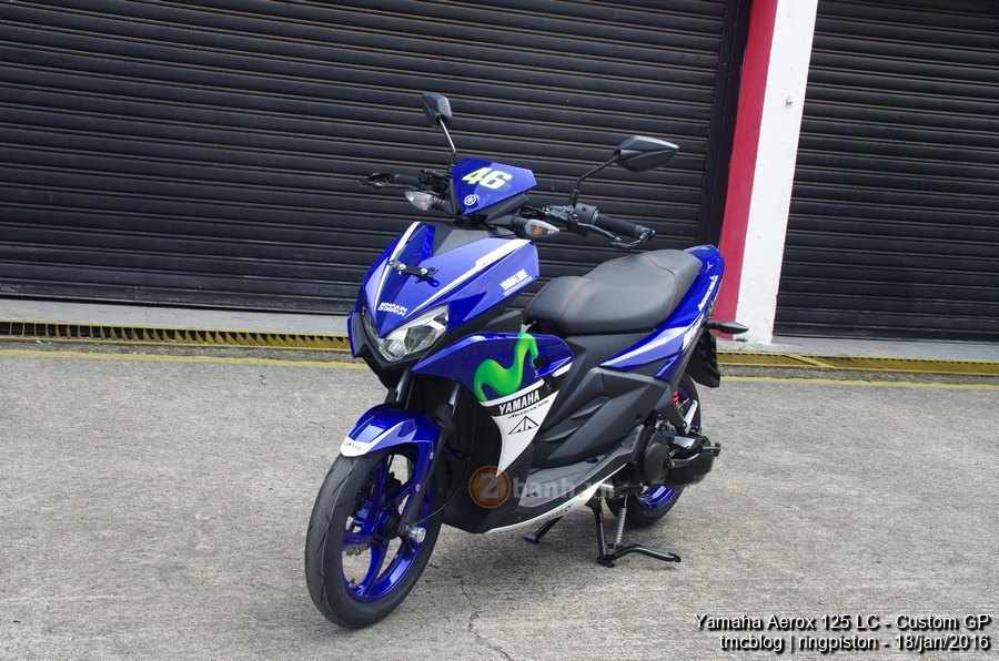 Can canh Yamaha Aerox 125 Movistar 2016 - 10