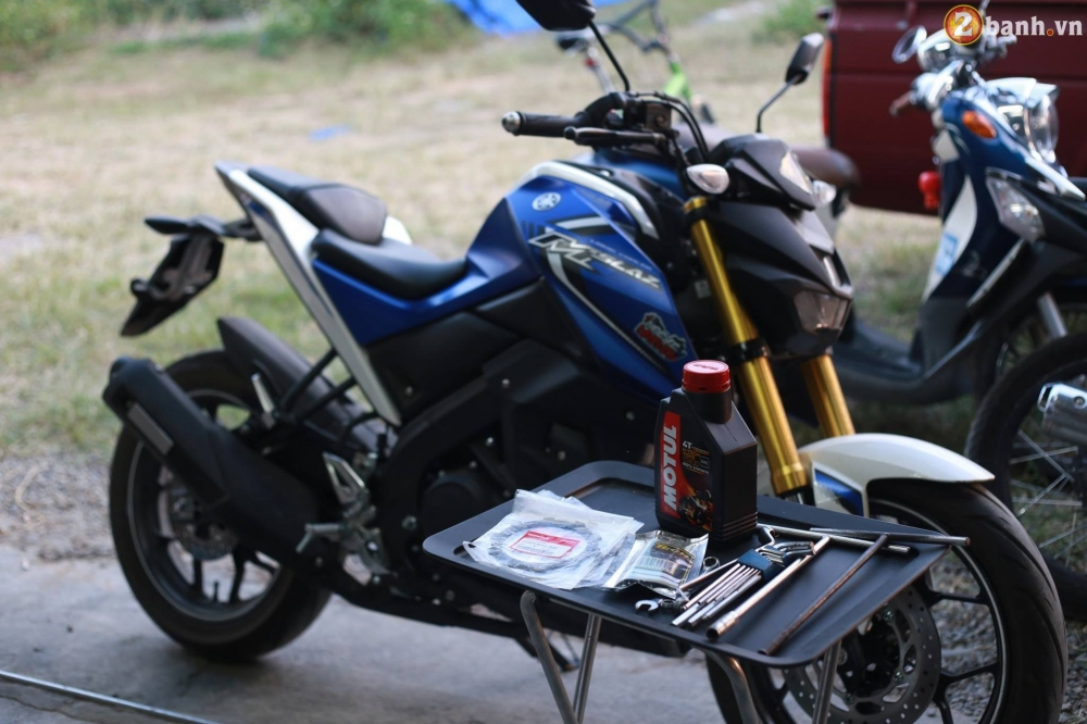 Can canh Yamaha MSlaz do noi cua biker Thai Lan - 2