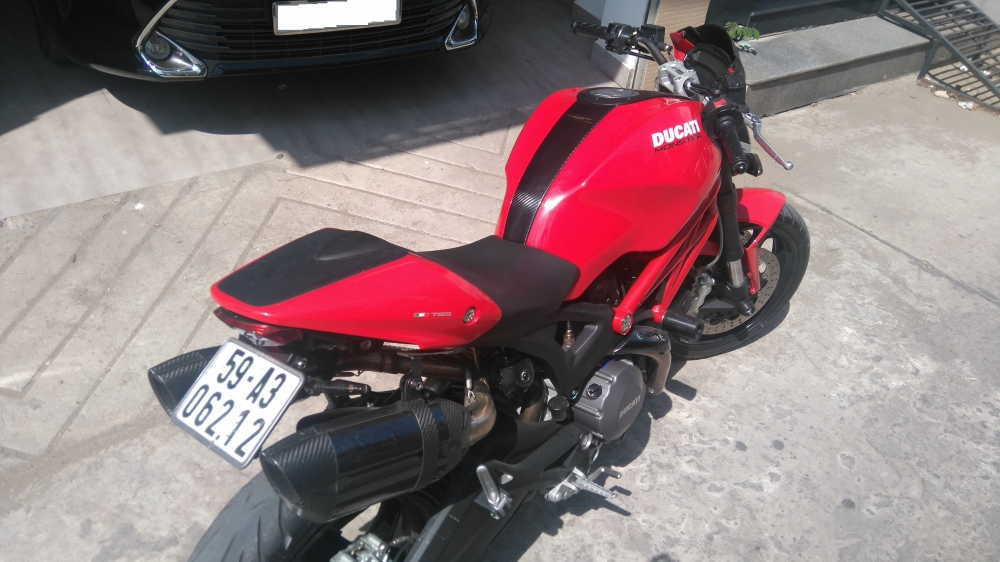 Ducati Monster 795 ABS Dang ky 52015 - 2