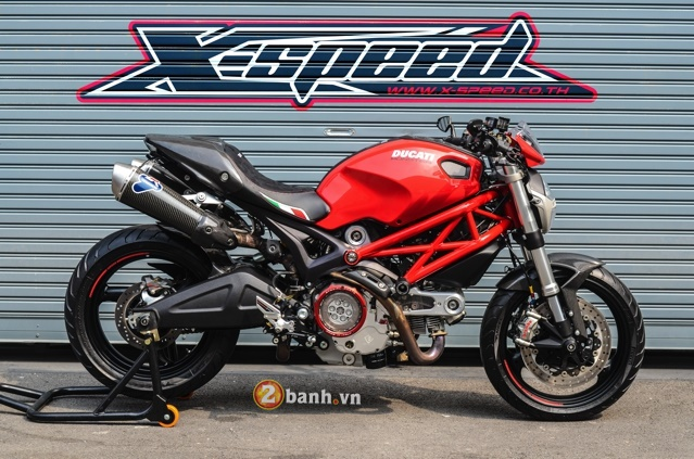 Ducati Monster 795 day chat lu cua nguoi Thai - 11