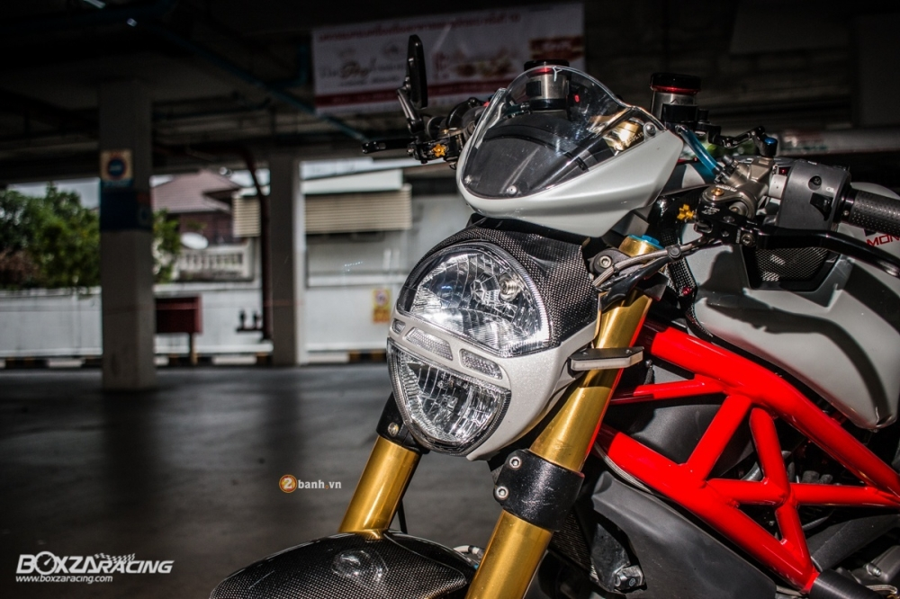 Ducati Monster 796 S2R do day hap dan cua biker Thai - 3