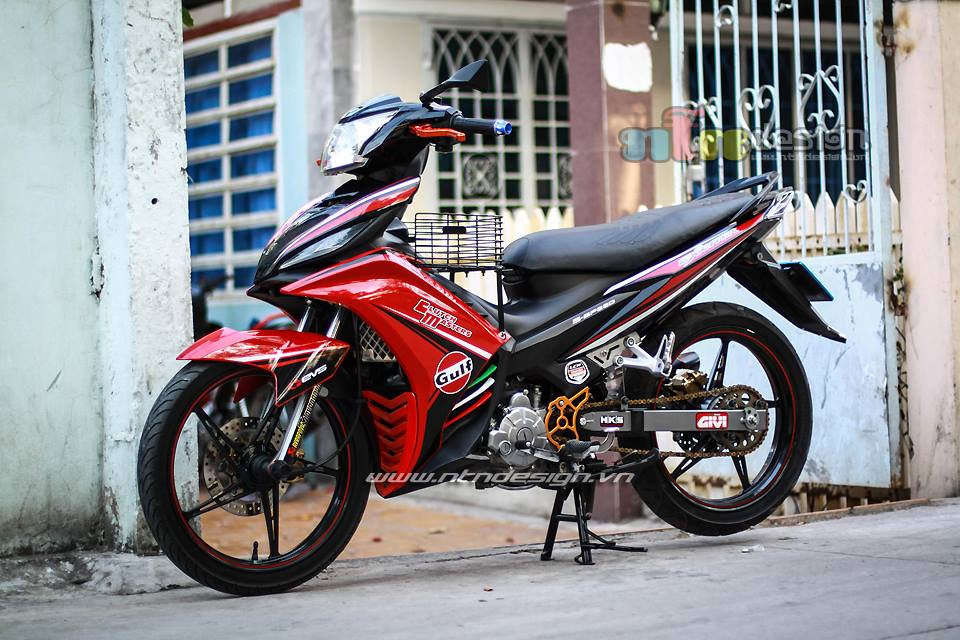 Exciter 135cc tap tanh len do choi - 2