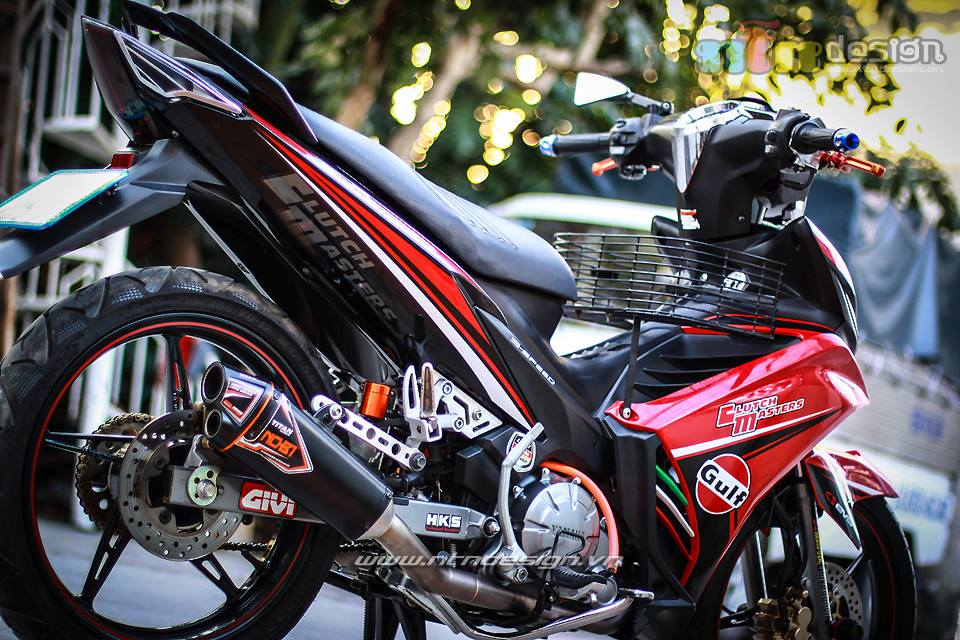 Exciter 135cc tap tanh len do choi - 4