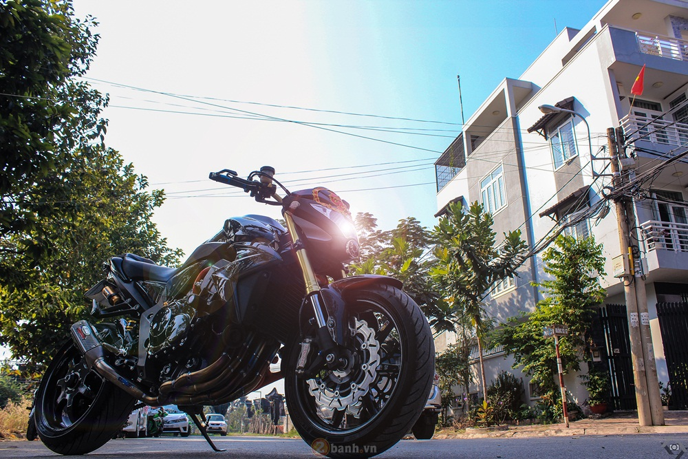 Honda CB1000R voi ban do full carbon - 10