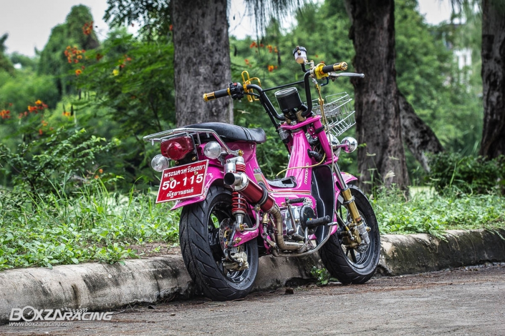 Honda Chaly do khung len may wave 110 full do choi do - 2