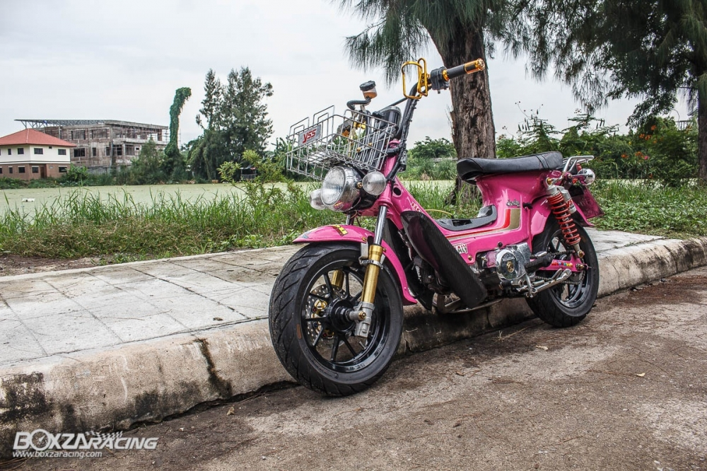 Honda Chaly do khung len may wave 110 full do choi do - 16