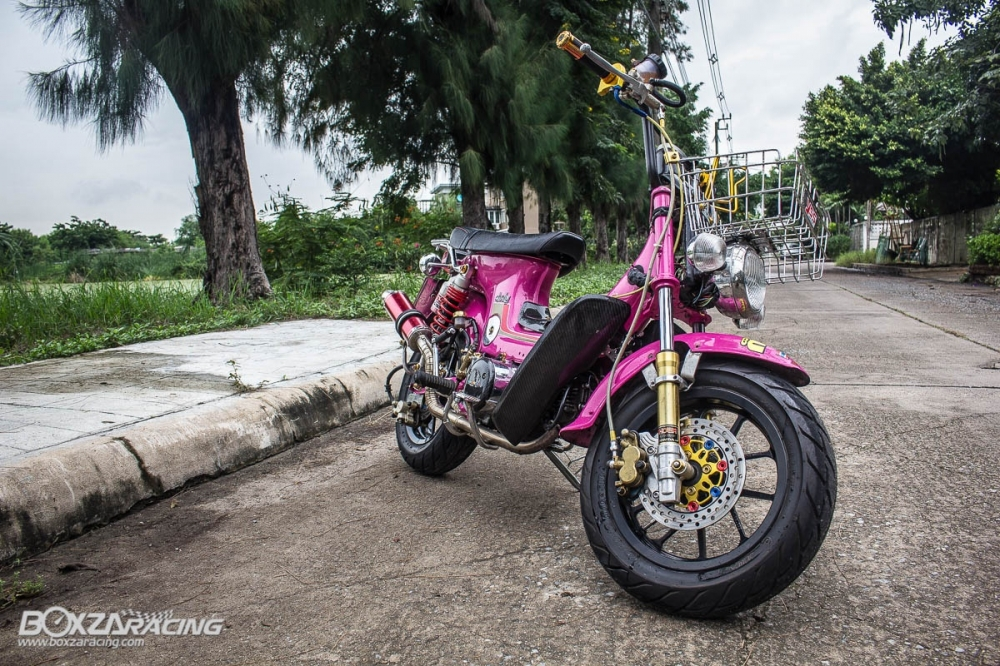 Honda Chaly do khung len may wave 110 full do choi do - 18