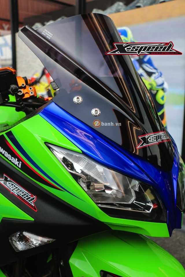 Kawasaki Ninja 300 do noi bat voi dan option do choi Biker - 3