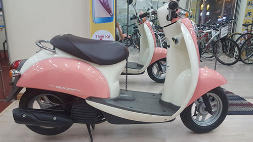 LO HANG XE MAY HONDA SCOOPY VA CREA MOI VE - 12
