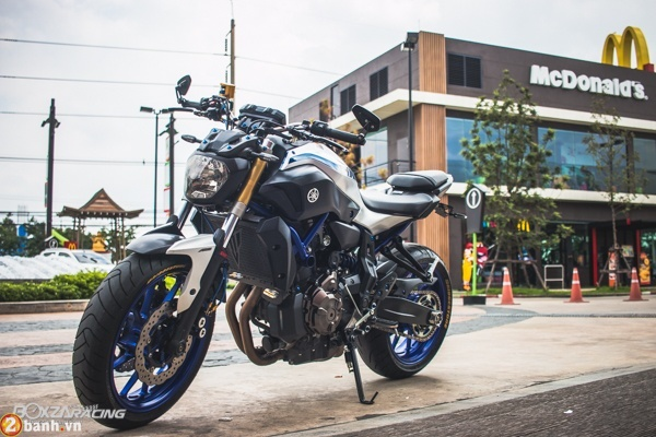 Yamaha MT07 voi phien ban do day phong cach - 2